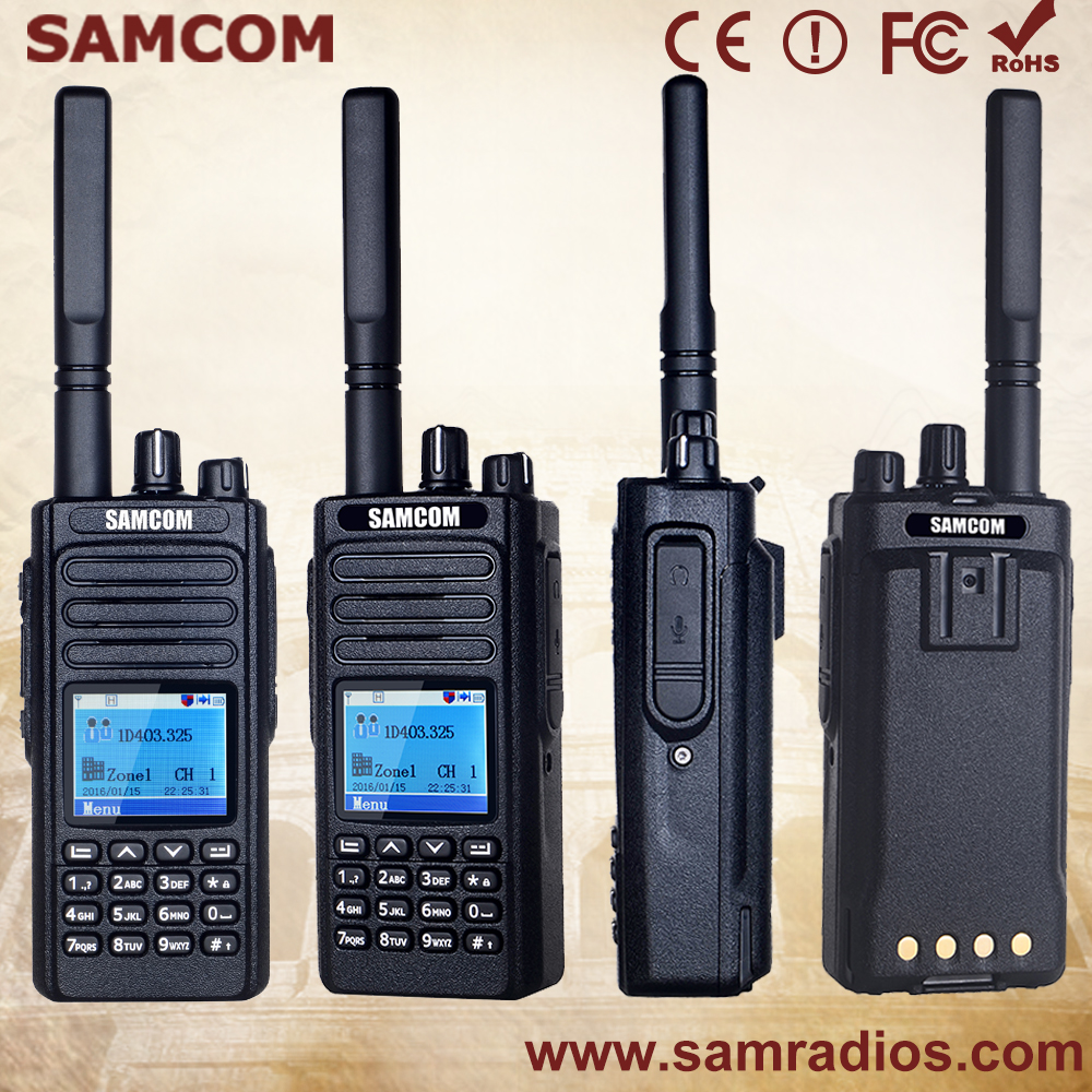 Samcom Dp 20 With Fcc Approval Dmr Portable Two Way Radio Buy Dmr Radio,Dmr Two Way Radio,Dmr Portable Two Way Radio Product on