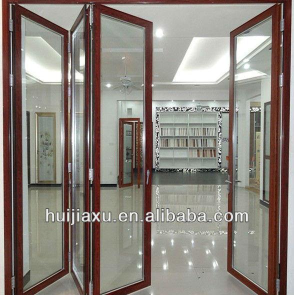 glas rahmenlose faltt r oder aluminium falt schiebe t r produkt id 627601317. Black Bedroom Furniture Sets. Home Design Ideas