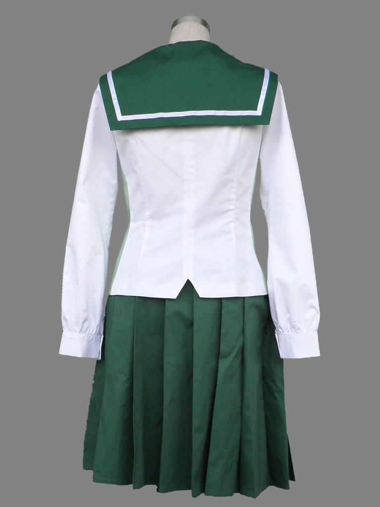 Compre Venta Al Por Mayor High School De Los Muertos Cosplay Fujimi ... bb3398e6374c
