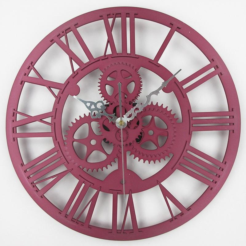 8d2f59273e8 Home Decor   Relógio de Parede de Engrenagem Acrílico   Relógios de Parede  Decorativos