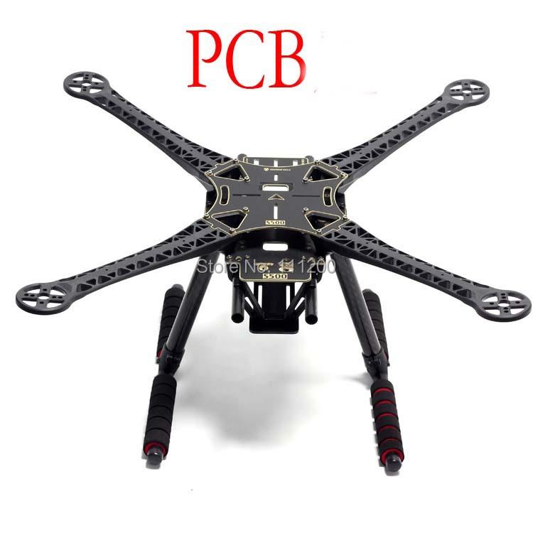 SK500 S500 Quadcopter Multicopter Frame Kit PCB Version With Carbon Fiber