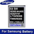 EB L1G6LLU Original Battery For Samsung Galaxy S3 i9300 i9308 I535 I747 L710 T999 M440S 2100mAh
