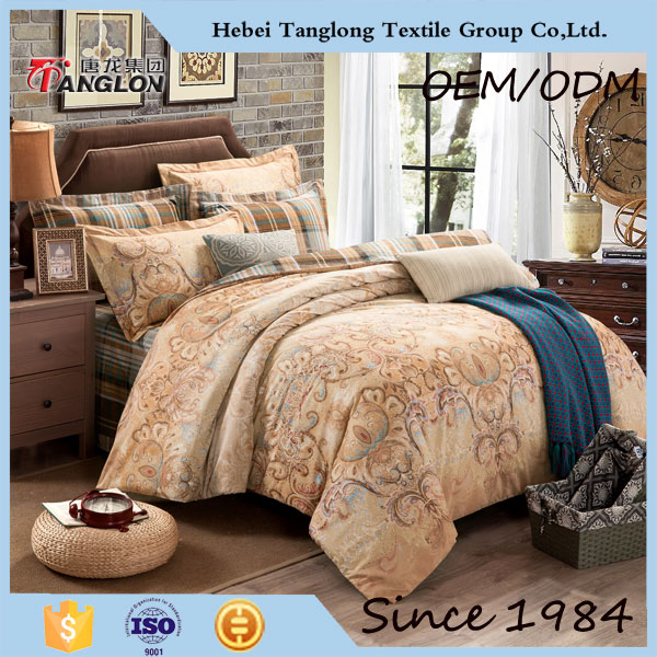 Chinese Supplier Cotton Quilted Bedspread Wholesale Home