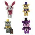 30cm PLush GLODEN Five Nights At Freddy s Fox FNAF Freddy Fazbear Bear Foxy Plush Toys