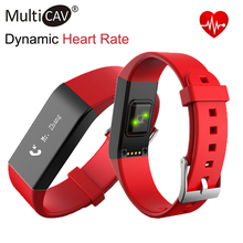 2016 hot Vidonn A6 Heart Rate Wristband Smart Watch Sleep Monitor Fitness Tracker Waterproof IP67 Bracelet for IOS&Android black