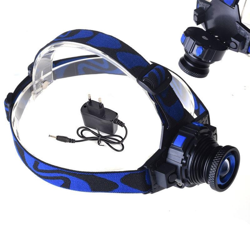 Spotlight Headlight: Cree Q5 3 Modes 1000 Lumens LED Rechargeable Headlight