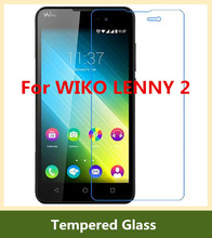 Tempered Glass Protector Clear Screen Film For WIKO LENNY 2 LCD Glass Screen Protector Front Protective Film Phone Guard