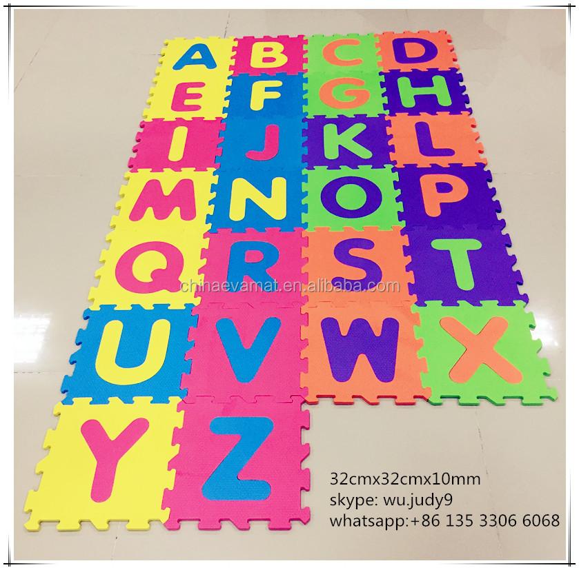 Mat - Buy Alphabet Puzzle Mat,Jigsaw Puzzle Mats,Eva Foam Alphabet Mat ...