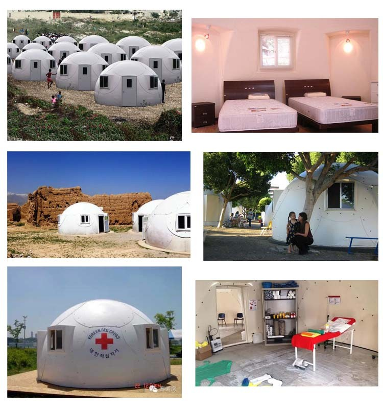 Project Gridless Geodesic Homes: Low Cost Frp Easy Assemble Geodesic Dome House For Caravan