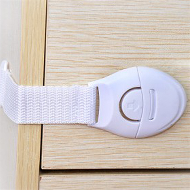 10pcs Adhesive Child Kids Baby Care Safety Security Cabinet Lock For Door Drawers Cupboard Cabinet Free Shipping