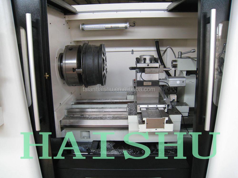 Ck6190w Cnc Optimum Lathe Machine For Repairing Car Wheels Buy Machine For Repairing