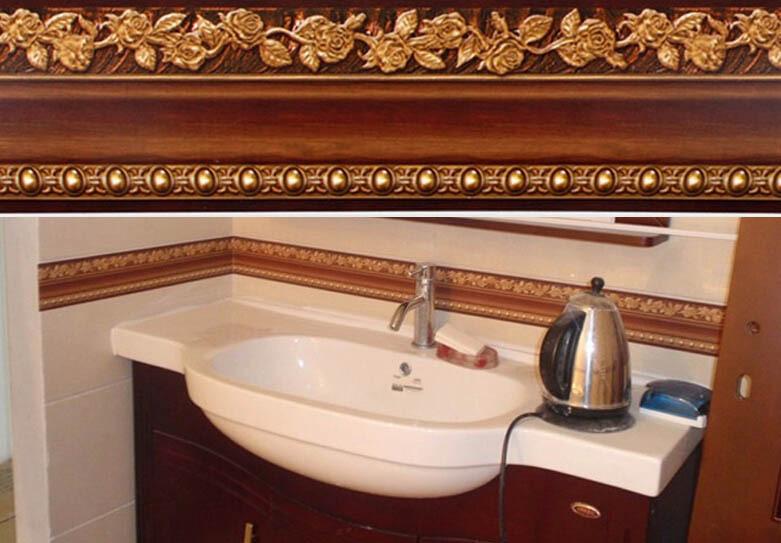 Waterproof Bathroom Walllpaper: Aliexpress.com : Buy 10*400cm Bathroom Wallpaper