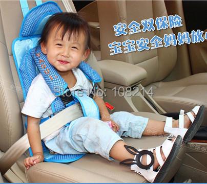 Портативный безопасность Seatswith 5 точка ремни безопасности высокое качество автомобильное сиденье 3 цветов ( кофе, Розовый, Синий ) бесплатная доставка