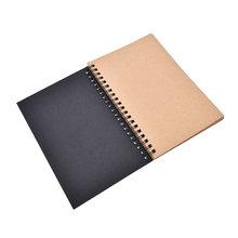 50 листов горячий пустой альбом для рисования граффити Рисование эскиз книга крафт спиральная тетрадь офисные школьные принадлежности(Китай)