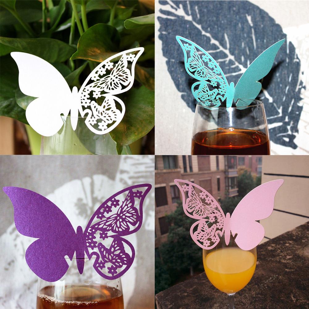 Achetez en Gros papillon de mariage décoration en Ligne à