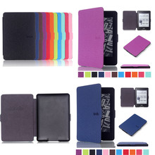 CY XB PU Leather Book Case For Amazon Kindle Paperwhite 1 2  e-Books Cover 2012 2013 Paperwhite 3 2015 ereader Smart cover