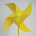 Free Shipping Plastic Windmill Pinwheel Self assembly Colorful windmill children s toys Home Garden Yard Decor