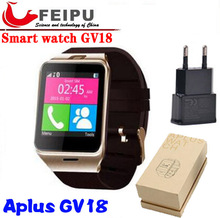 2016 NEW Aplus GV18 Smart watch phone GSM NFC Camera wrist Watch SIM card Smartwatch for Samsung Android Phone