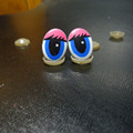 100pcs DIY Doll cartoon eyes accessories safety eyes for toys Handmade Plastic eye Children DIY Dolls