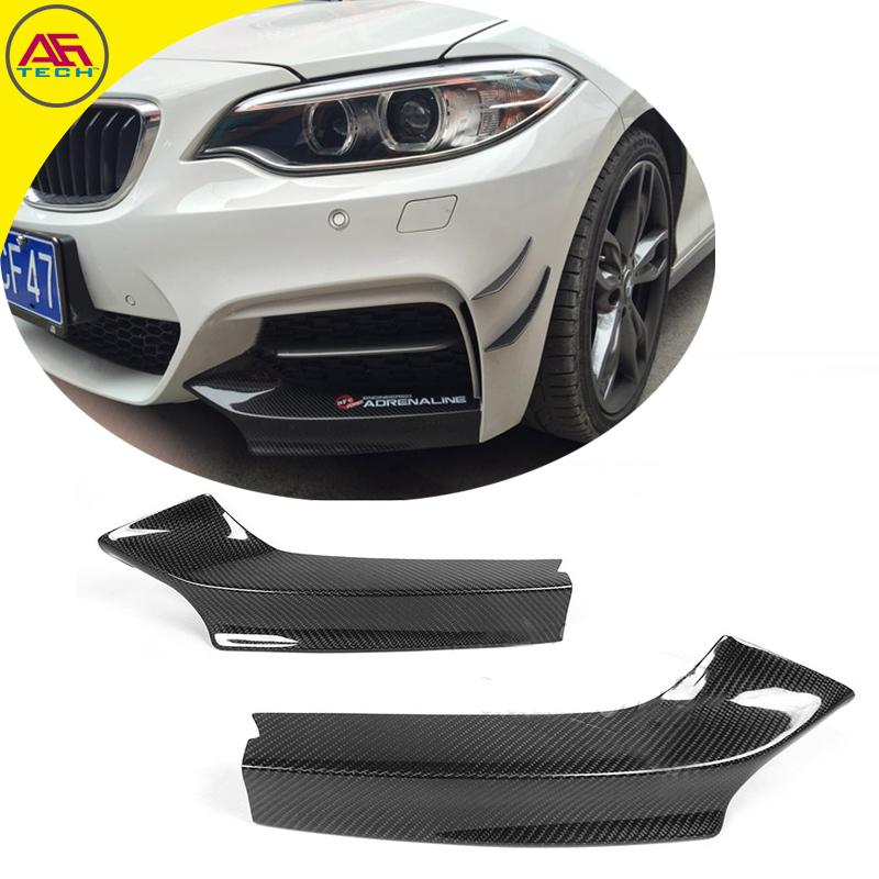 Bmw 7 Series Facelift Fully Leaked Front And Rear: Carbon Fiber Front Bumper Lip Front End Chin Aprons For