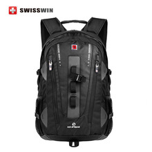Swisswin Men Travel Backpack SWE9972 32L Outdoor sport backpack for mountain climbing 15.6 Computer Backpack For Business