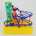 Free shipping DIY Electronic Construction Marble Race Run Maze Balls Track Building Blocks Toys for kids