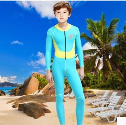 Kids Neoprene Wetsuit For Boy Rash Guard Swim Scuba Diving