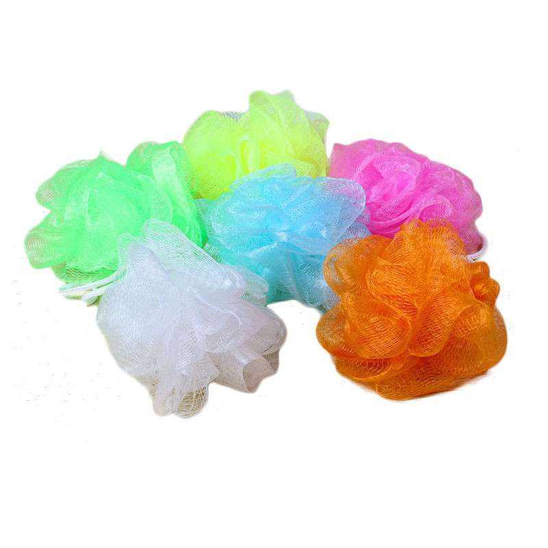 2019 Wholesale Loofah Flower Bath Ball Bath Tubs Scrubber