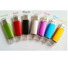Micro usb Smart Phone USB Flash Drive with multicolor 4GB 8GB 16GB 32GB pen drive memory stick u disk pendrive