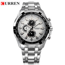 Luxusné pánske analogové hodinky CURREN z Aliexpress