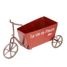 Винтажный мини-трицикл, украшение, металлическая скульптура, для велосипеда, настольная, искусство, сад, домашний декор, ретро орнамент, мал...(Китай)