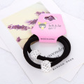 2pcsNew High Quality Women Elastic Hair Band Full Rhinestone Shambhala Bead Lady Hairband 0 6MM Girl