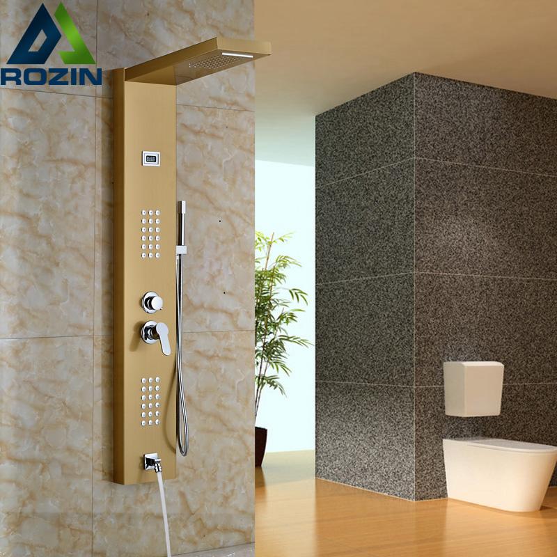 colonne de douche de pluie achetez des lots petit prix colonne de douche de pluie en. Black Bedroom Furniture Sets. Home Design Ideas