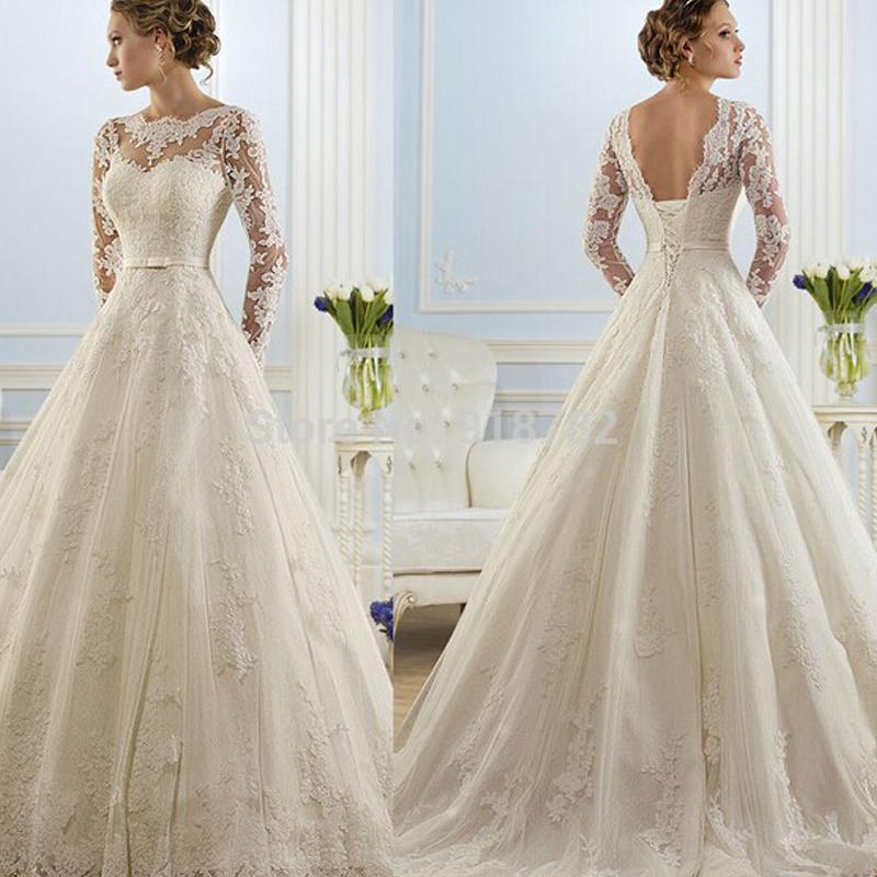 Cheap Wedding Dresses For Sale: 2016 Hot Sale Beautiful Lace Wedding Dresses Cheap A Line