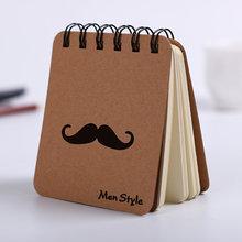 Модный мужской Стильный блокнот, креативный бизнес-блокнот, дневник, офисный, студенческий, портативный блокнот, креативный, записывающий, 1...(Китай)
