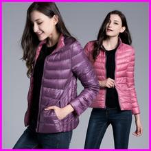 Zimní prošívaná bunda pro ženy, oboustranná v krásných barvách
