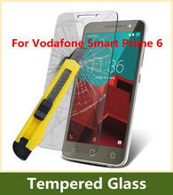 2015 Hot Sell 9H 2.5D Arc Edge Explosion-proof Tempered Glass Film For Vodafone Smart Prime 6 LCD Screen Protector