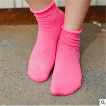 Women's Cotton Sock Casual Sweet Candy Calcetines Brief Fashion Solid Korean Style Socks For Women