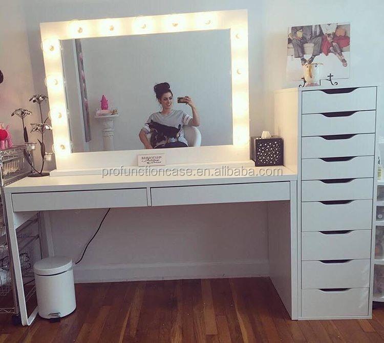 Professionnel Studio Maquillage Miroir Avec Led Lumi 232 Res
