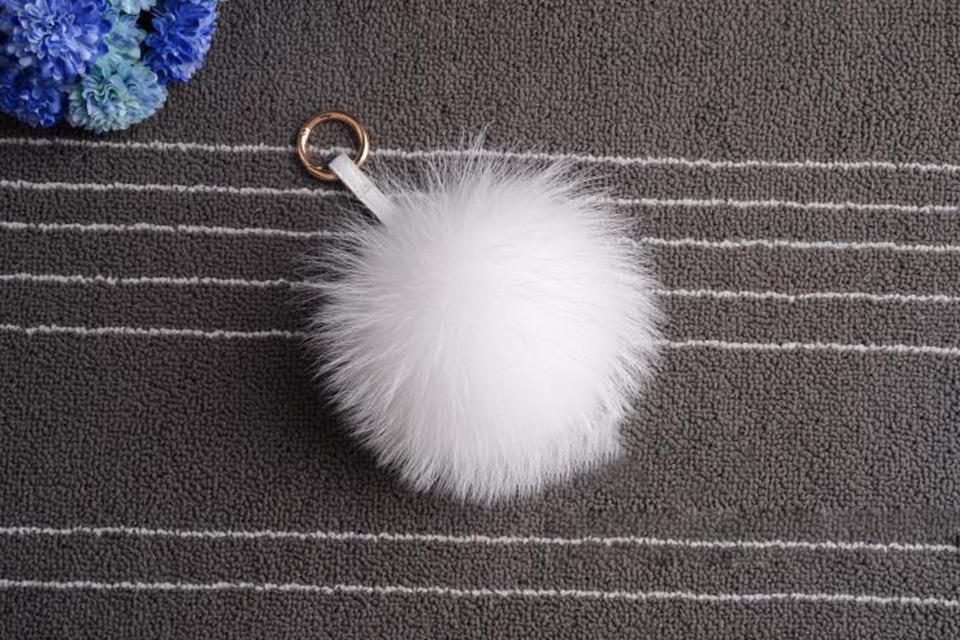Multi Colored Raccoon Fur Keychain Big Size Genuine Fox Fur Pompom Keychain  In Multicolor Pompom Bag Accessories Fur With Ring. We will always cut our  price ... 3cc44a617cbf4