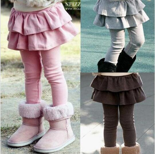Retail 1pc Girls Leggings Children s Skirt Girls Skirt pants Spring Cake pants girls Leggings 2