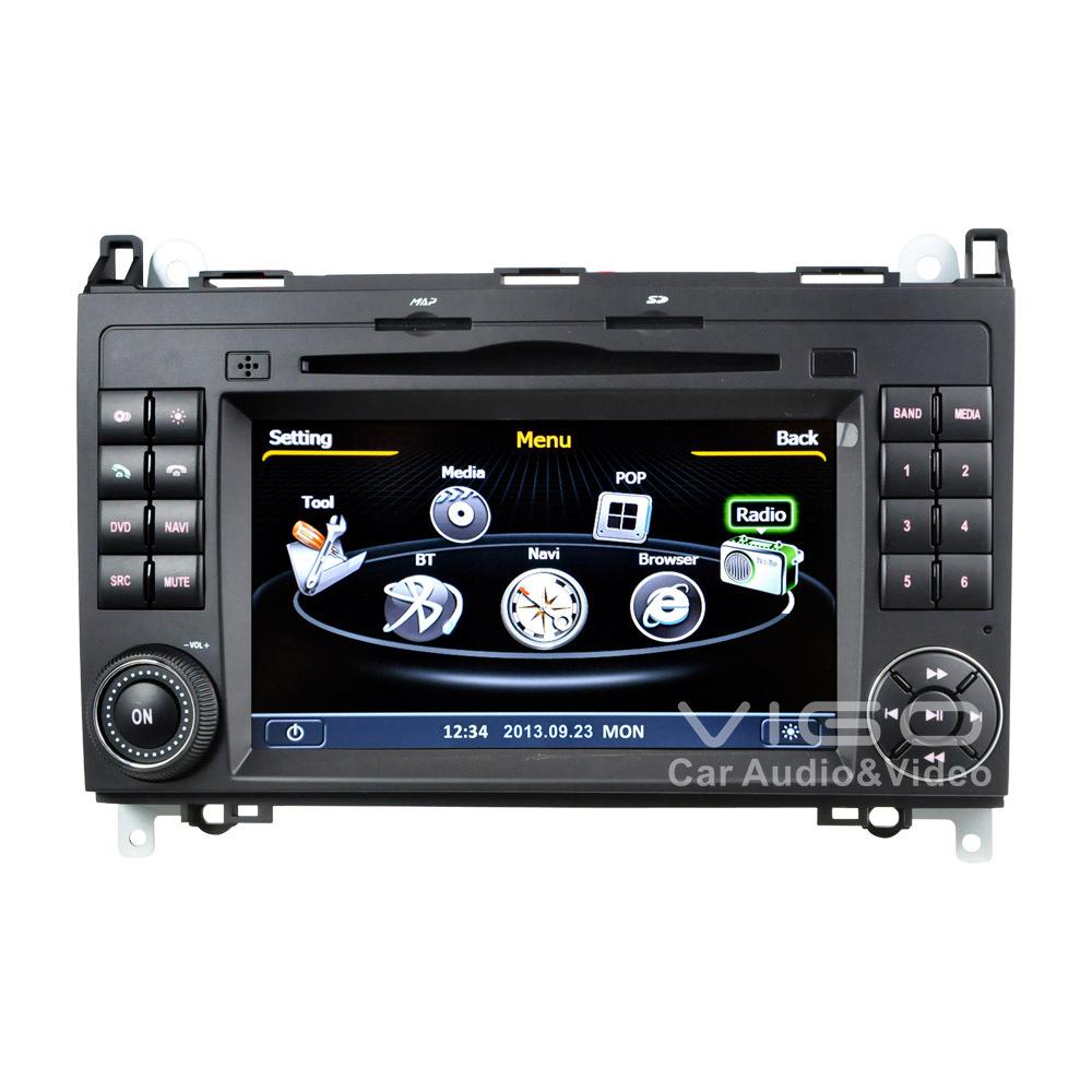 Car Stereo GPS Navigation For Mercedes Benz A B V Class