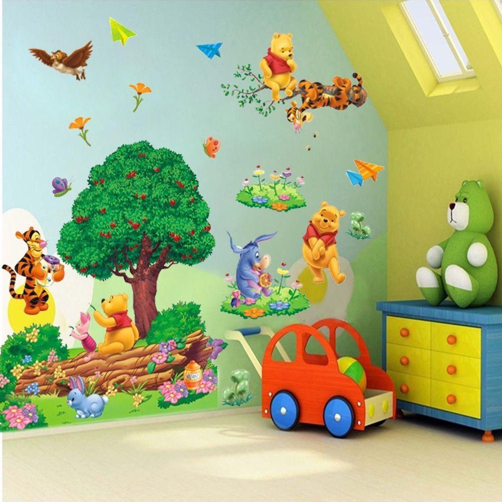 Winnie The Pooh Tigger Cartoon Wall Sticker Vinyl Art
