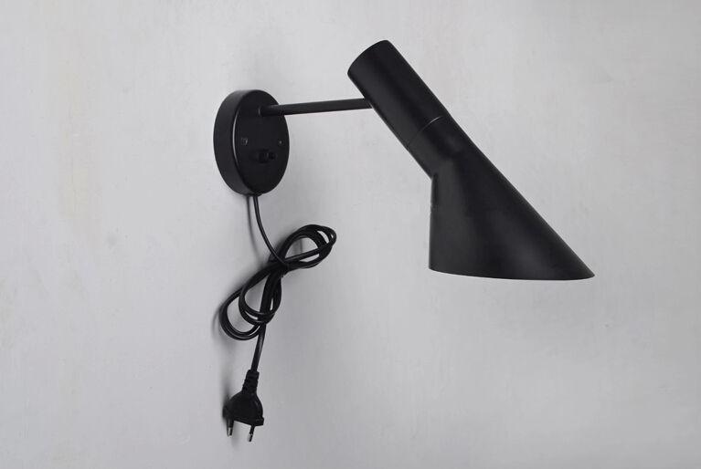arne jacobsen aj wall lamp wall sconce wall light louis. Black Bedroom Furniture Sets. Home Design Ideas
