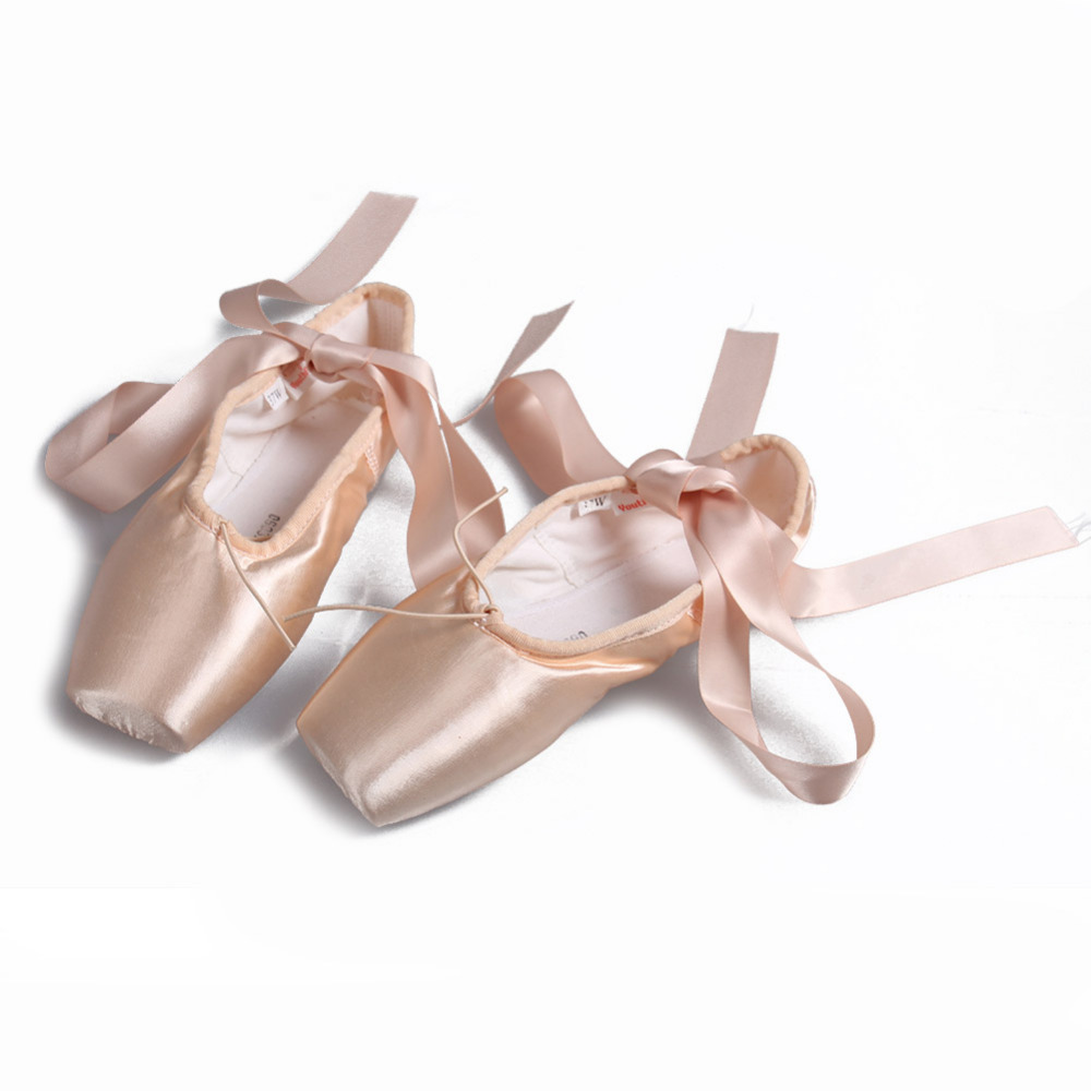 Girls Satin Ballet Shoes
