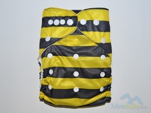 Printing Breathable Washable Baby Cloth Diaper With One Free Insert FT73