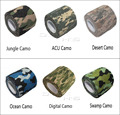 4pcs lot 5cmx4 5m Army Camo Outdoor Sports Hunting Shooting Tool Camouflage Stealth Tape Waterproof Wrap