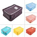 Promotion Sale1pc Portable Waterproof Travel Zipper Shoe Makeup Cloth Organizer Storage Bag travel kit