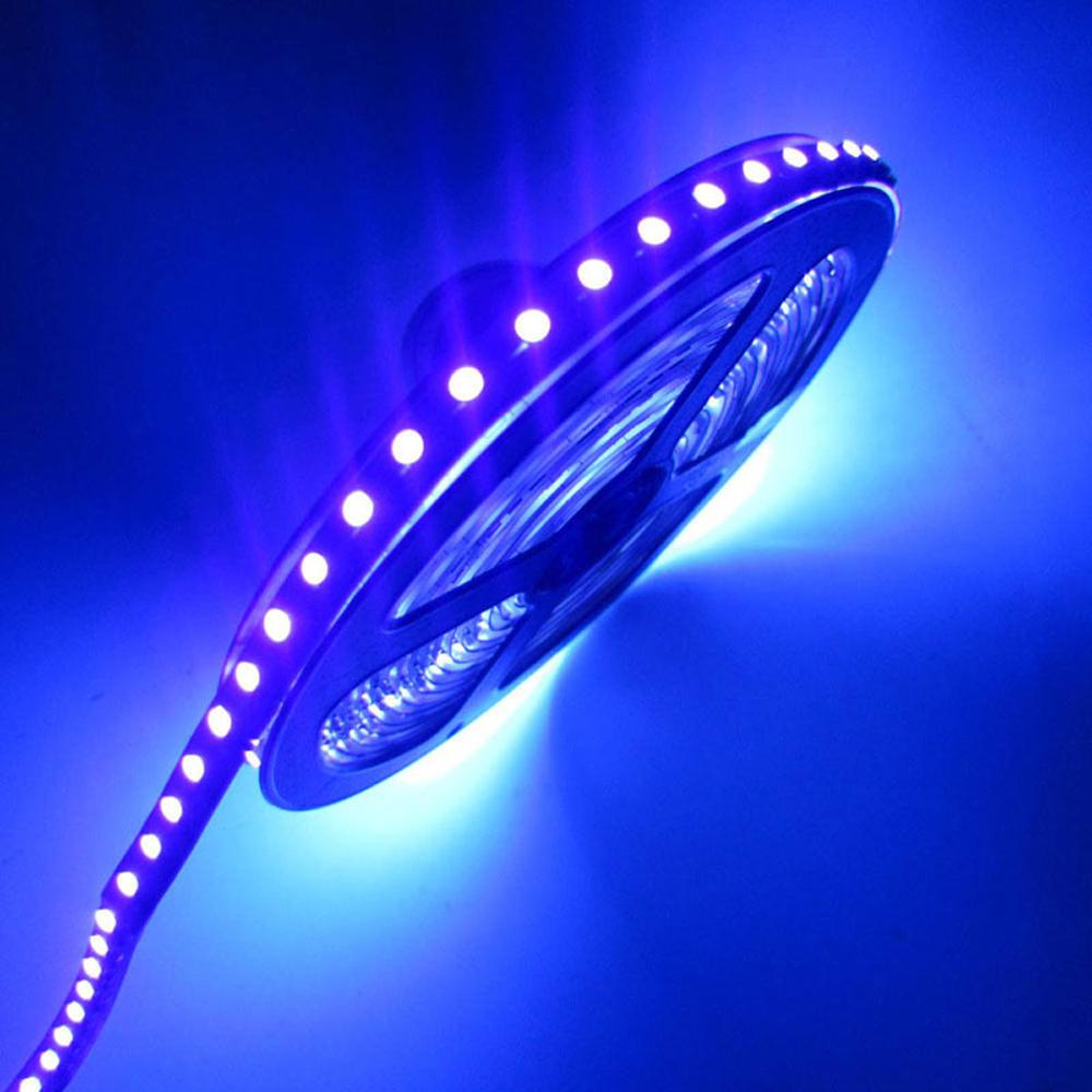 12v 3528 5050 smd 60led m 120led m uv 395 405nm ultraviolet waterproof purple led flexible strip. Black Bedroom Furniture Sets. Home Design Ideas