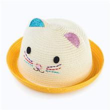 Commercio all ingrosso di new baby estate berretto cappello orecchie di  gatto bambino decorazione orecchio carino cappello della. 6b184571cd44